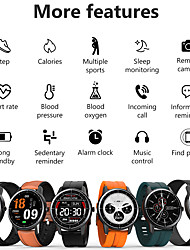 cheap -L18 Smart Watch Men IP68 Waterproof Heart Rate Blood Pressure Monitor Women Smartwatch for huawei xiaomi iOS Android Clock