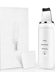 cheap -3 In 1 Ultrasonic Skin Scrubber Blackhead Remover Ultrasonic Face Pores Cleaner Facial Scrubber Spatula Comedones Extractor For Facial Deep Cleansing