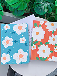cheap -Case For Apple iPad  Mini 3 2 1 iPad Mini 4 iPad Mini 5 with Stand Flip Full Body Cases PU Leather TPU Protective Stand Cover Pattern cute lovely flower daisy oil painting