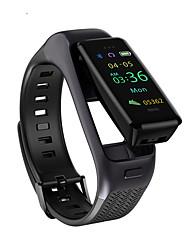 cheap -JSBP HB03 Men Women Smartwatch Smart Watch 2-in-1 BT Fitness Tracker Support Notify/ Heart Rate/ Sport Smart Watch for Apple/ Samsung/ Android Phones Distribution