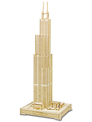 cheap -3D Puzzle Jigsaw Puzzle Model Building Kit Tower Famous buildings Horse EPS+EPU Unisex Toy Gift