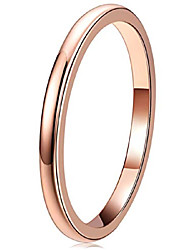 cheap -womens rings unique rose gold tungsten carbide for man domed 2mm ring wedding band gifts bands rings for women size 4n