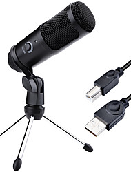 cheap -Recording USB Condenser Microphone Professional Studio Microphones For PC Computer Laptop Voice Podcasting For Youtobe Mic Stand