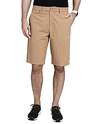 """cheap -mens work shorts 12"""" inseam flat front shorts relaxed fit hybrid chino pleated walkshort for men with 4 pockets 11 inch khaki"""