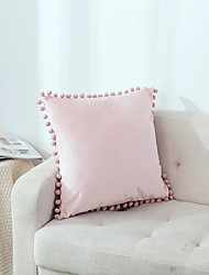 cheap -1 pcs Super Soft Velvet Pillow Covers Square Decorative Pillowcase for Bed Couch Sofa Bench, 18 x 18 inch (45 cm)
