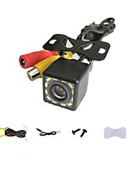 cheap -Car Rear View Camera Universal 12 LED Night Vision Backup Parking Reverse Camera Waterproof 120 Wide Angle HD Color Image