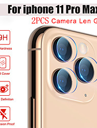 cheap -Phone Camera Protector for iPhone 11Pro Max Back Cover Transparent Camera Lens Screen Protective Film iPhone 11 XS Max XR 6 7 8 Plus SE 2020 Protective Film on Camera Tempered Glass 2PCS