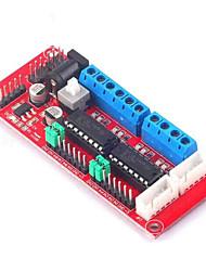 cheap -L293D 4WD Controle de Acionamento Do Motor DC Dual-ponte H Modulo Para Arduino Robo Carro Inteligente