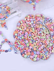 cheap -Snap Pop Beads Jewelry Making Kit DIY Bracelets Necklace Hairband and Rings Toy 350 pcs Creative DIY Plastic Shell For Child's Boys and Girls