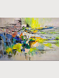 cheap -Hand Painted Canvas Oil Painting Abstract Home Decoration Without Stretcher Painting Only Rolled Without Frame
