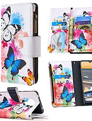 cheap -Case For Nokia 1.3 Nokia 5.3 Card Holder Flip Full Body Cases Animal Tree Flower PU Leather