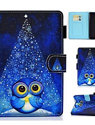 cheap -Case For Amazon Kindle PaperWhite 2 3 4 Kindle Paperwhite 2018 Amazon HD8 HD10 Card Holder with Stand Pattern Full Body Cases Animal PU Leather