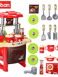 cheap -Pretend Play Play Kitchen Fun Plastic ABS Kid's Unisex Toy Gift