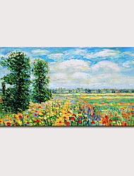 cheap -Mintura  Large Size Hand Painted Abstract Landscape Oil Painting On Canvas Modern Pop Art Posters Wall Picture For Home Decoration No Framed Rolled Without Frame