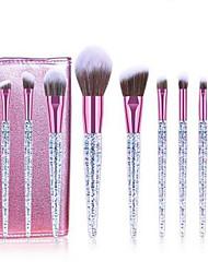 cheap -Professional Makeup Brushes 10pcs Professional Soft Full Coverage Comfy Plastic for Eyeliner Brush Makeup Brush Eyeshadow Brush