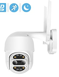 cheap -HD 1080P PTZ IP Camera Wifi Outdoor Auto Tracking 2MP CCTV Security Camera 4X Optical Zoom Alarm Dome Wireless Camera IP SD Card