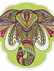 cheap -tassels hawaii beach round throw tapestry - bohemian style wall art hanging hippy boho gypsy tablecloth beach sunproof shawl & #40;301& #41;