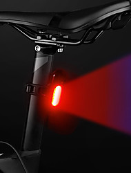 cheap -LED Bike Light Rear Bike Tail Light LED Bicycle Cycling Waterproof New Design Li-polymer 120 lm Rechargeable Battery Dual Light Source Color Camping / Hiking / Caving Everyday Use Cycling / Bike