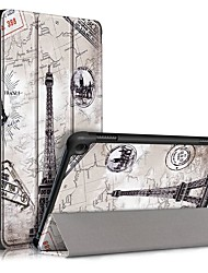 cheap -Case For Amazon HD 8(2020) HD 8 Plus (2020) Flip Ultra-thin Magnetic Full Body Cases Eiffel Tower PU Leather Case For Amazon HD 8(2020) HD 8 Plus (2020)