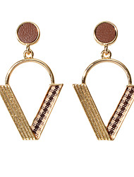 cheap -Women's Drop Earrings Geometrical Fashion Earrings Jewelry Gold For