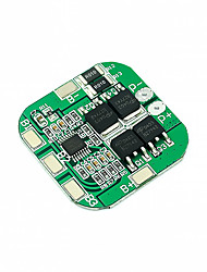 cheap -14.8v 18650 Lithium Battery Protection Board 4 Strings 16.8v Overload and Over Discharge Short Circuit Protection 20a Current