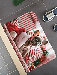 cheap -Christmas Door Mat Rug Door Mat Hallway Carpets Area Rugs Creative Christmas Door Mat Rug Door Mat Hallway Carpets Area Rugs For Bedroom Living Room Carpet Kitchen Bathroom Anti-slip Floor Mats