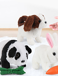 cheap -Electric Toys Stuffed Animal Plush Toy Rabbit Dog Panda Gift Dancing Walking Interactive PP Plush Imaginative Play, Stocking, Great Birthday Gifts Party Favor Supplies Boys and Girls Kid's Adults