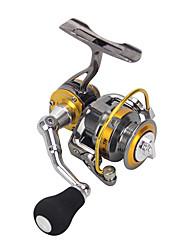 cheap -Fishing Reel Spinning Reel 5.0:1 Gear Ratio+4 Ball Bearings Hand Orientation Exchangable Sea Fishing / Freshwater Fishing / Trolling & Boat Fishing