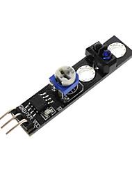 cheap -Sensor de Rastreamento de KY-033 TCRT5000 Reflexivo Interruptor Fotoeletrico Modulo de Monitoramento Infravermelho Para Arduino