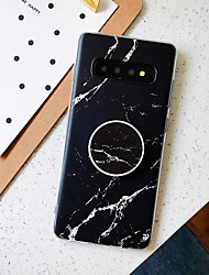 cheap -Case For Samsung Galaxy Note 10 Note 10 Pro Note 10 Plus A10 M10 A20 A30 A50 A30S A50S with Stand Frosted Pattern Back Cover Marble TPU