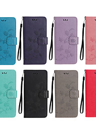 cheap -Case For Google Pixel 4A Pattern Magnetic Full Body Cases Solid Colored PU Leather