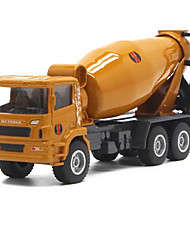 cheap -1:50 Metalic Construction Truck Set Concrete Mixer Toy Truck Construction Vehicle Toy Car Model Car Music & Light Excavating Machinery Unisex Boys' Girls' Kid's Car Toys / 14 years+