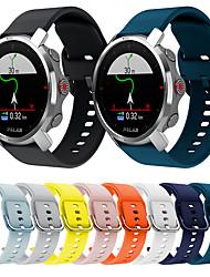 cheap -3 Pcs Sport Silicone Watch Band for Polar Vantage M / Grit X / IGNITE / Replaceable Bracelet Wrist Strap Wristband