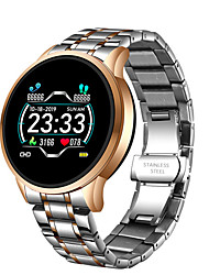 cheap -W6 Stainless Steel Smartwatch for Android/ IOS/ Samsung Phones, Sports Tracker Support Heart Rate Monitor