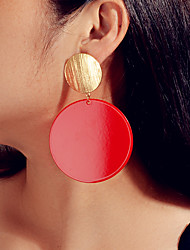 cheap -Women's Drop Earrings Geometrical Fashion Earrings Jewelry Red For Date
