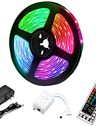 cheap -5m LED Strip Lights RGB Tiktok Lights 300 LED 2835 SMD RGB Tape Lights Light Sets Self Adhesive Multicolor for Room Kitchen TV Festival Illumination with Remote 12V