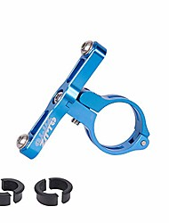 cheap -aluminum alloy cnc machined water bottle cage holder mount for 22.2mm 25.4mm 31.8mm handlebar seatpost (blue)