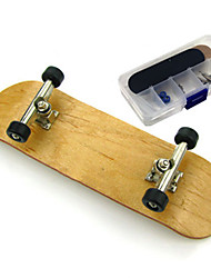 cheap -Finger skateboards Finger Toys Wooden / Bamboo Alloy Office Desk Toys Tools Wooden Matte Surface Kid's Teen Unisex Party Favors  for Kid's Gifts / 14 Years & Up