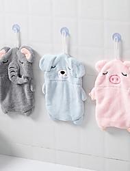 cheap -Superior Quality Hand Towel, Cartoon / Fashion Polyester / Linen Blend Kitchen / Bathroom 1 pcs