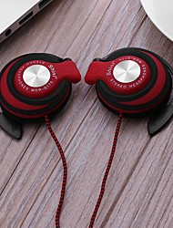 cheap -Universal 3.5mm Plug Wired Clip On Ear Sports Earphone Heavy Bass Headphone