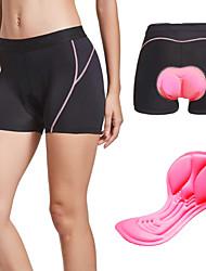 cheap -Women's Sports Underwear Cycling Under Shorts Spandex Bike Underwear Shorts Padded Shorts / Chamois Bottoms Breathable Quick Dry Anatomic Design Sports Black / Pink / Black / Green Mountain Bike MTB