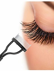 cheap -eyelash comb lash separator mascara lift curl metal brush beauty,make up tool makeup brushes make up brushes makeup tool eyeshadow brushes eyeshadow brush face powder blush & #40;black& #41;