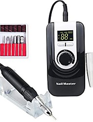 cheap -professional nail drill machine 30000 rpm,portable electric e file scamander,nail drill for acrylic gel nails, battery capacity display,nail grinding machine set