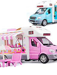 cheap -Transport Car Toy Beach Theme Mini Food Truck Simulation Music & Light Alloy Mini Car Vehicles Toys for Party Favor or Kids Birthday Gift / Kid's