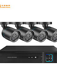 cheap -4CH AHD DVR Security System 1080P AHD Waterproof Outdoor CCTV Camera 1080P 2.0MP Night Vision AHD Surveillance Kit