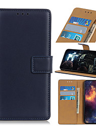 cheap -Case For  LG Stylo 4 Q Stylus G8 ThinQ G8 V50 ThinQ 5G V50 G8S ThinQ G8S Q60 stylo5 6 W10 W30 Q70 V60 ThinQ 5G G9 Card Holder Flip Magnetic Full Body Cases Solid Colored PU Leather TPU Vintage