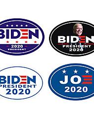 cheap -10pcs/set Biden sticker Art. No. Qf-555 car body sticker refrigerator stickerWhite / Black / Purple/Blue