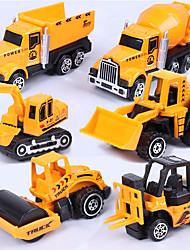 cheap -1:64 Metalic Plastic Toy Truck Construction Vehicle Toy Car Truck Excavating Machinery Boys' Kid's Car Toys / 14 years+