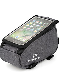 cheap -Cell Phone Bag 7 inch Cycling for Cycling Black Dark Gray Black-white Road Bike Road Cycling Cycling / Bike