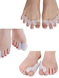 cheap -8Pcs Women en Silicone Gel Toe tube Corns Blisters Gel Bunion Toe Finger Protector Foot Insoles Feet Massage